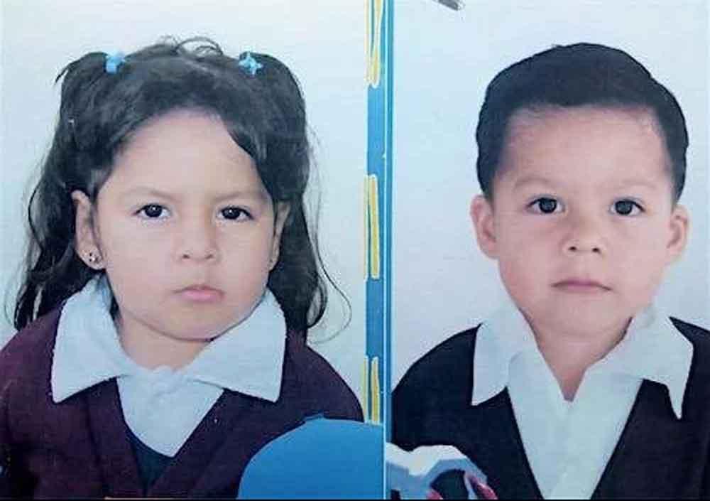 Dos menores fueron raptados; piden ayuda para su localización