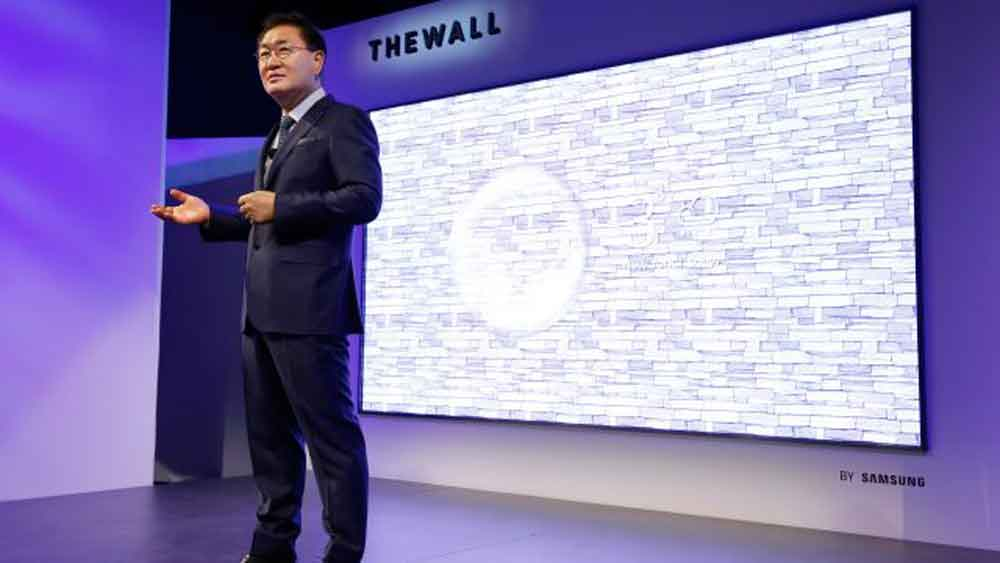 "Samsung crea televisión que se arma como un ""Lego"""