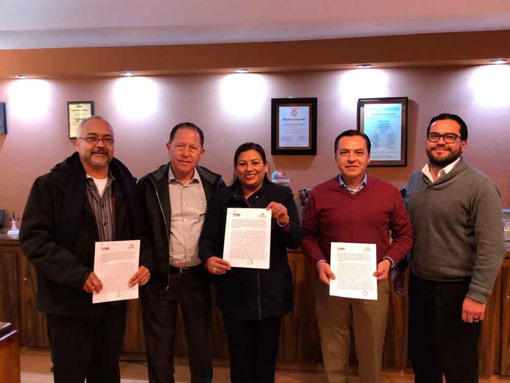 Ayuntamiento de Tecate firma convenio de colaboración con el INE