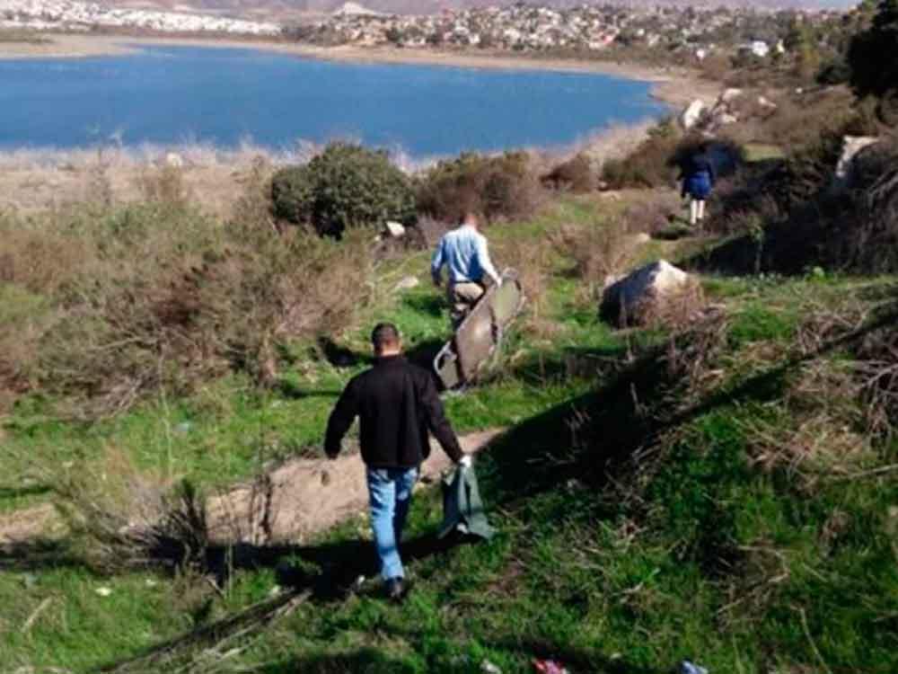 Familiares identifican cuerpo encontrado en presa de Ensenada