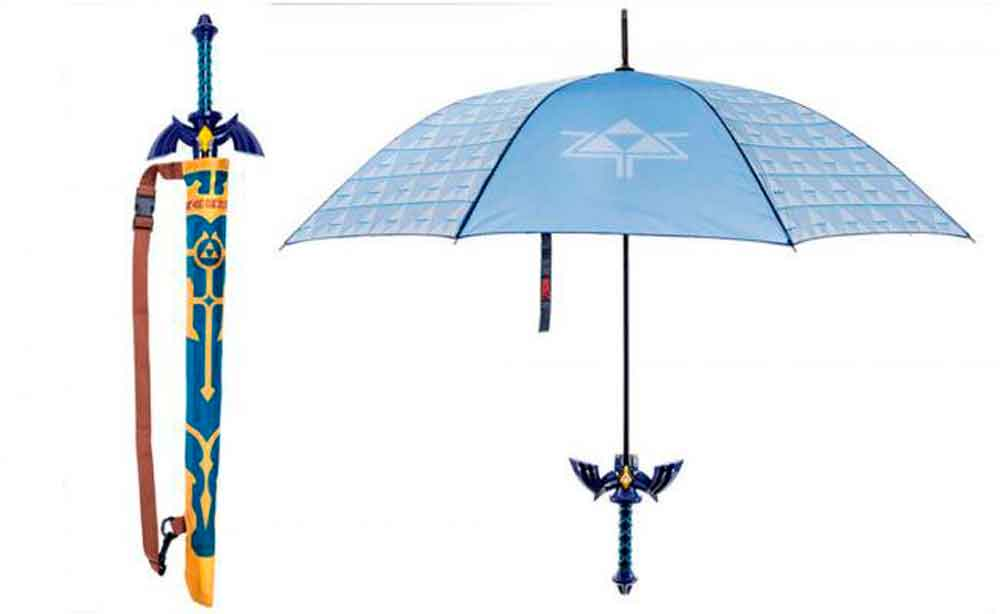 Conoce el paraguas oficial de The Legend Of Zelda