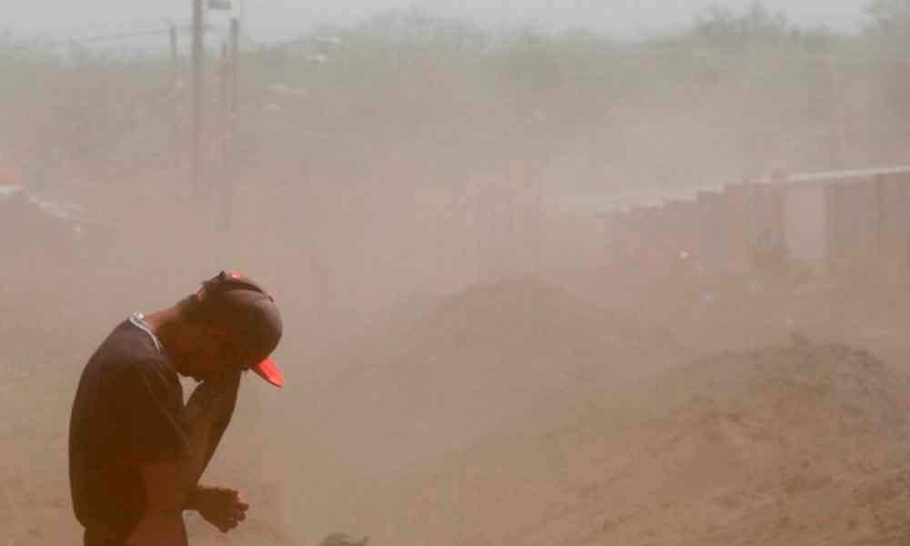 Fuertes daños causados por viento en Tecate