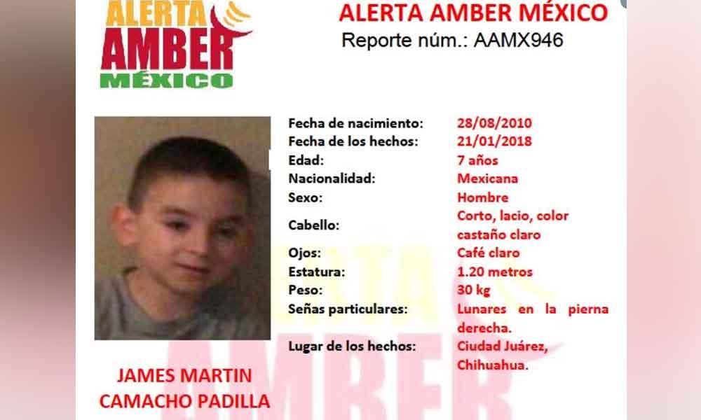 Ofrecen 200 mil pesos para encontrar a niño autista desaparecido
