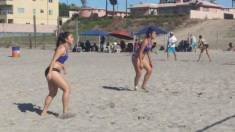 Tijuana a la cabeza del voleibol de playa femenil