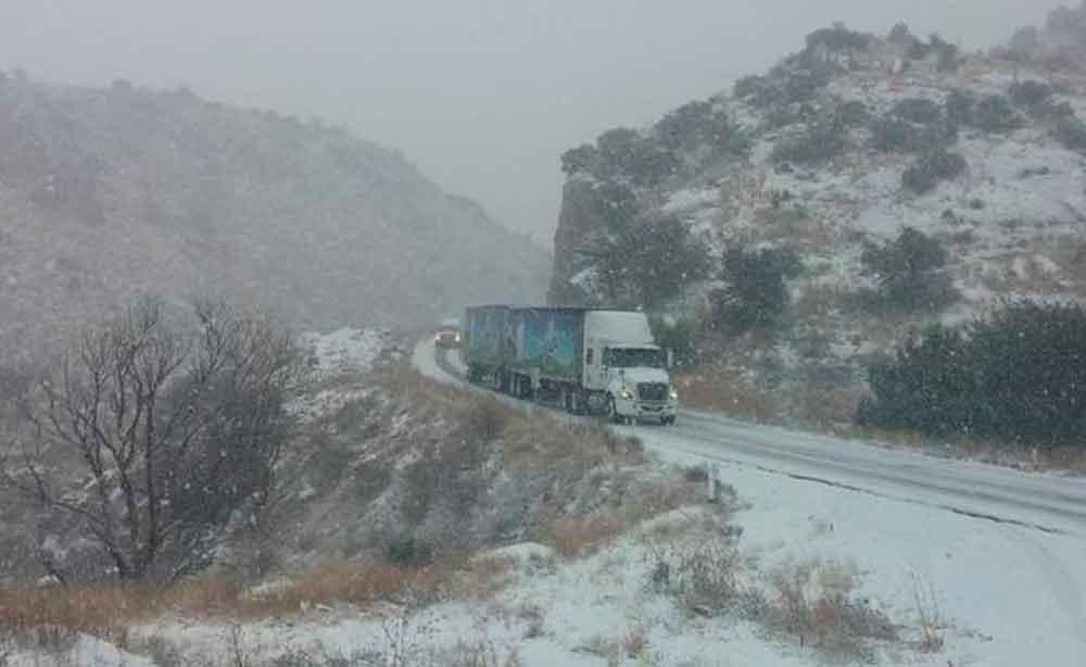 Alertan por frente frío que provocará nevadas y lluvias en Sonora