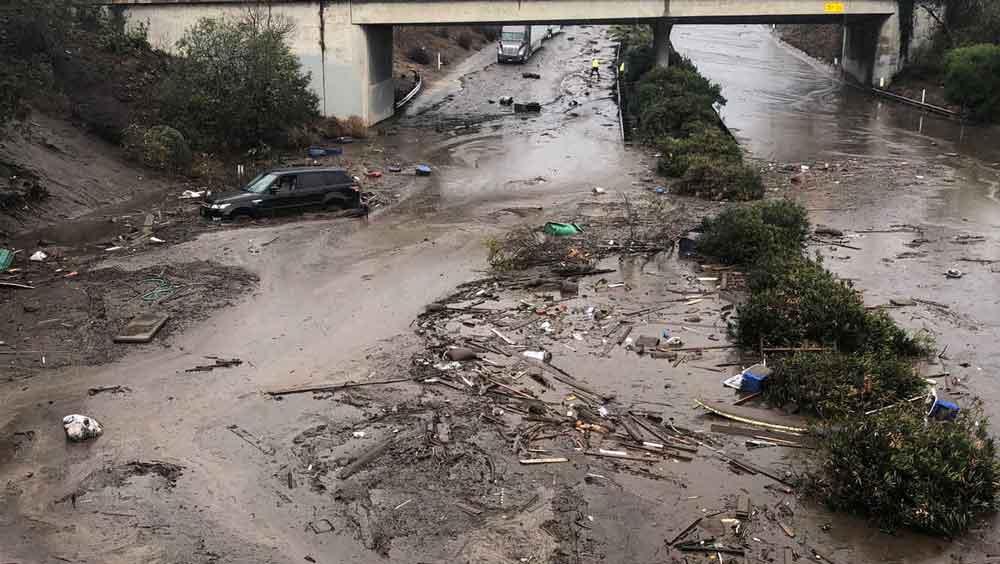 Al menos 13 muertos en California por fuertes lluvias y deslaves