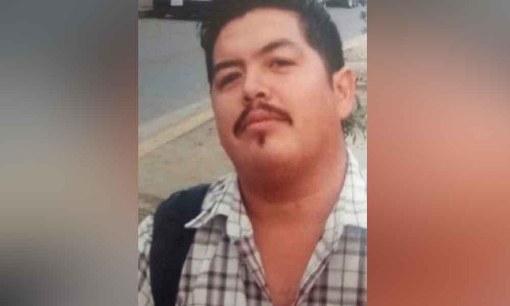 Antonio desapareció desde noviembre; familiares piden apoyo