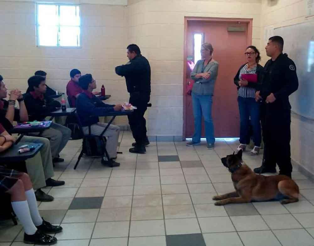 """""""Operativo Mochila"""" programa importante para la prevención en escuelas"""