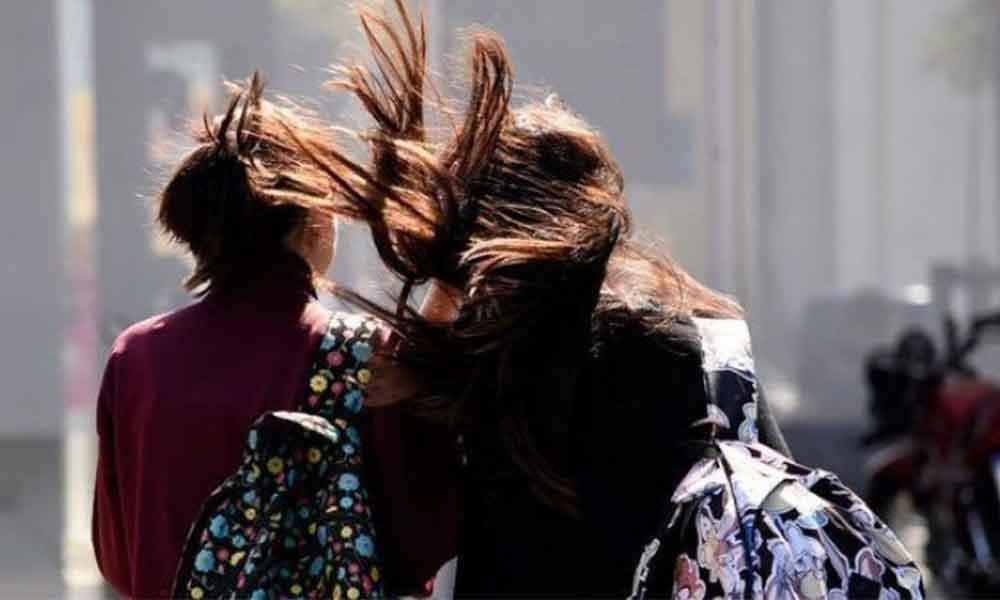 Fuertes vientos continuarán esta tarde en Tecate