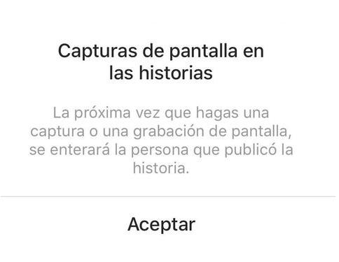 Instagram avisará cuando se hagan capturas de 'Stories — Estás advertido