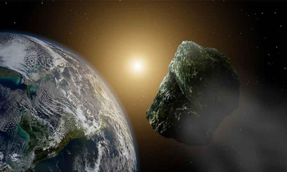Mira el paso del asteroide 2002 AJ129 cerca de la Tierra en directo