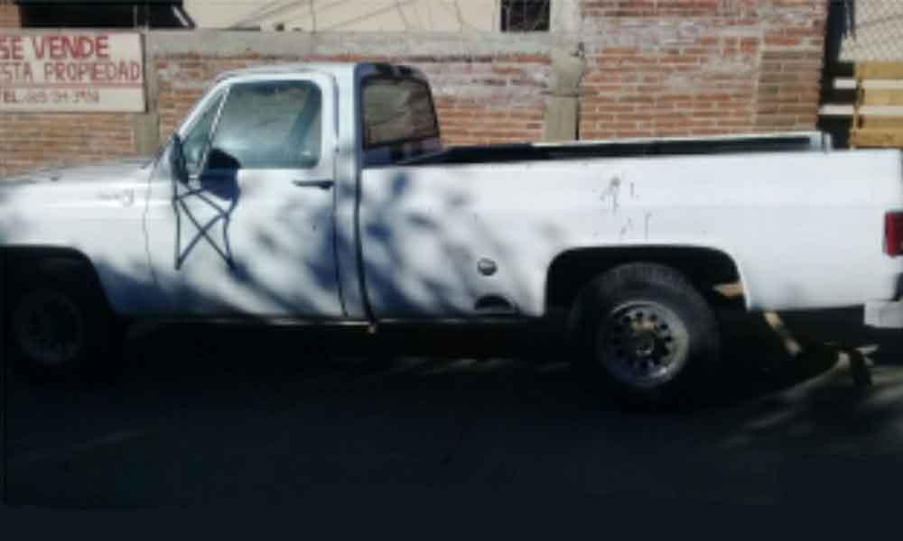 Recuperan auto robado en Tecate