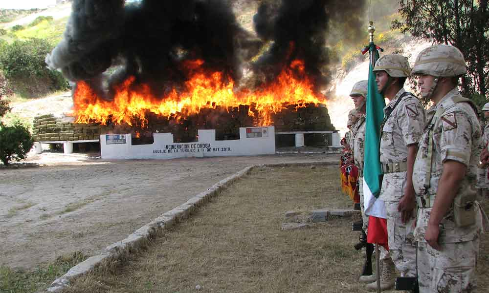 """""""Baja California no es productor de droga"""": Secretario de Seguridad"""
