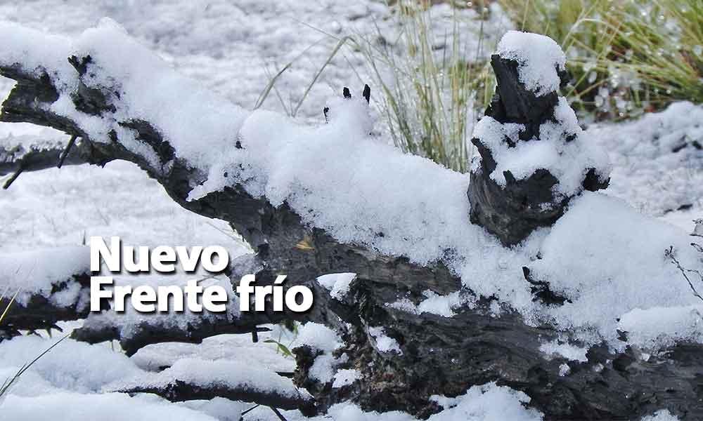¡Abrígate! Frente frío No. 34 traerá lluvia y nevadas a Baja California el lunes por la tarde