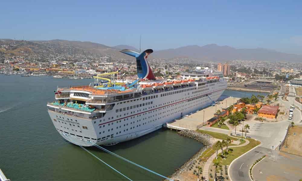 Puerto de Ensenada se mantendrá 30 días sin el arribo de cruceros por coronavirus