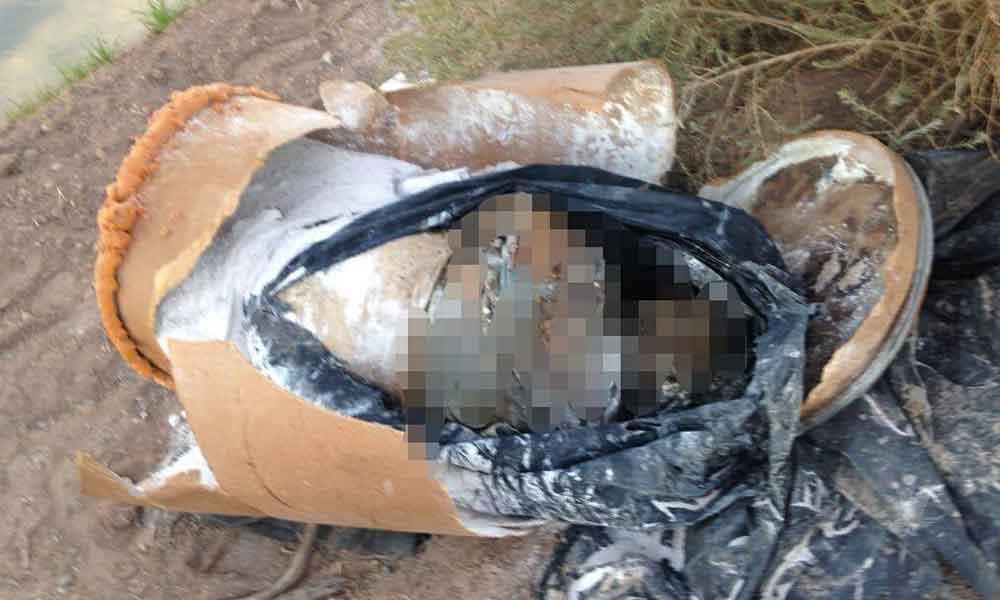 Encuentran cuerpo dentro de un bote de cartón en Mexicali