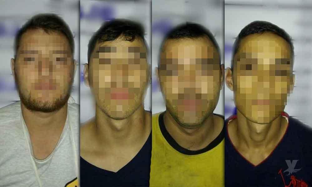 Detienen a cinco, intentaron robar a un hombre que retiró 85 mil pesos de un banco