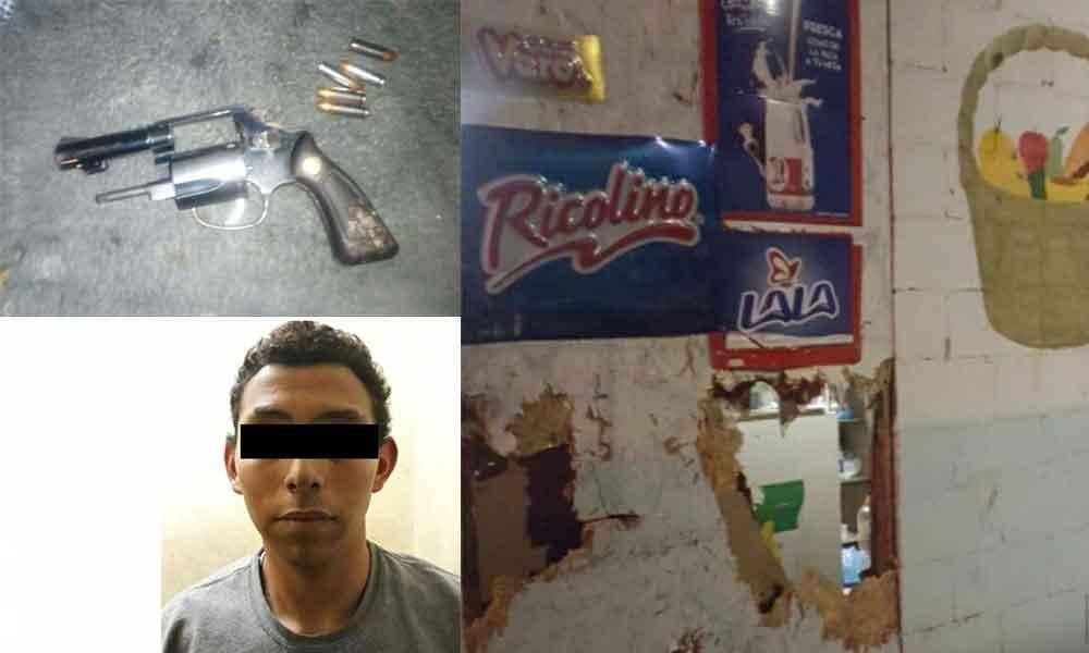 Detiene Seguridad Ciudadana a cinco por diversos delitos en Tecate