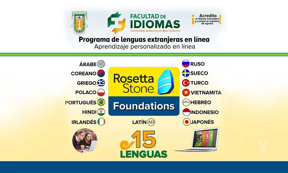 Conoce el programa de Lenguas Extranjeras en Línea de la UABC