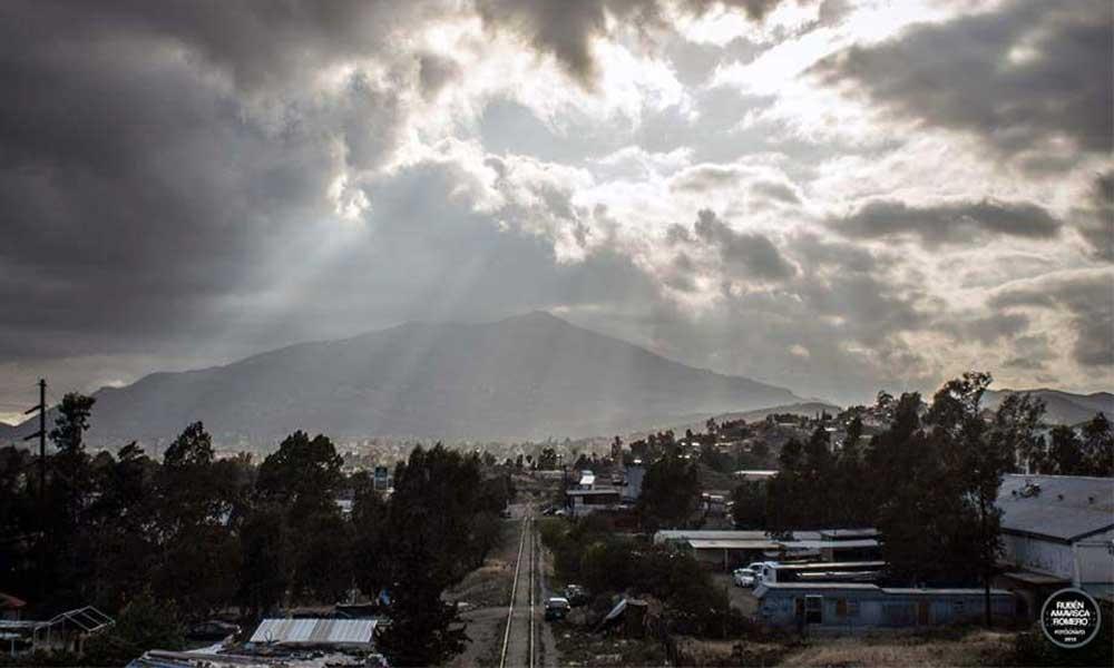 Pronostican helada y fuertes vientos este lunes para Tecate, hasta -2 grados centígrados