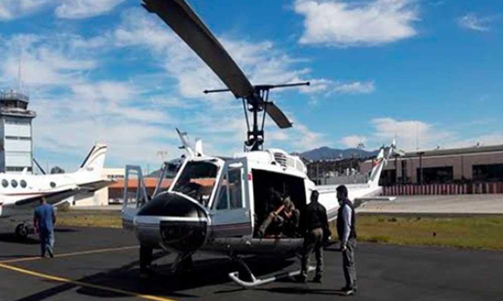 "Despliegan ""Operativo Escudo"" con dos helicópteros en Baja California"