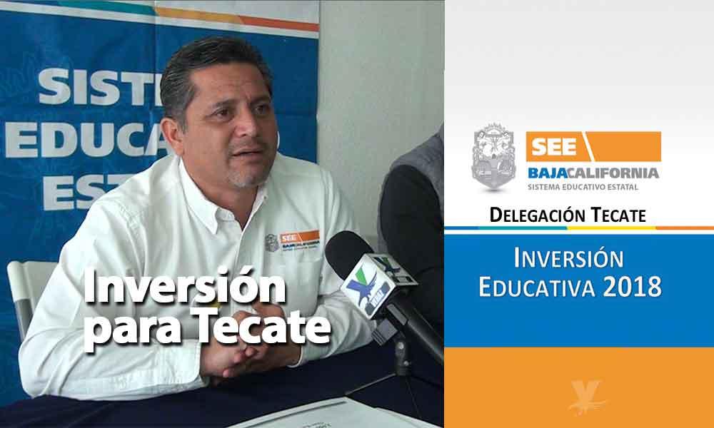 Fuerte inversión a planteles escolares este 2018 en Tecate