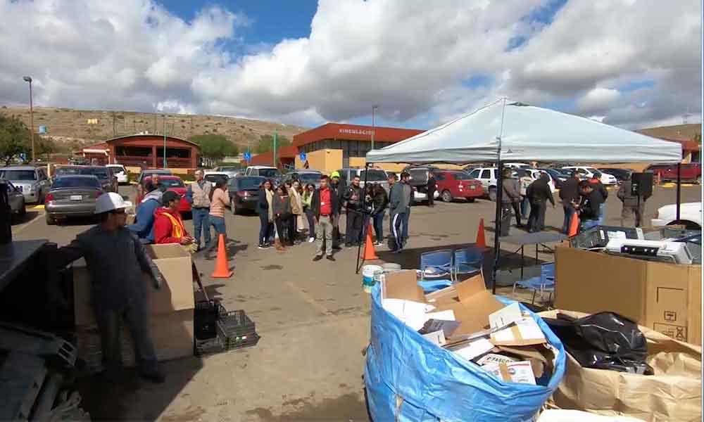Se desarrolla la 5ta Jornada Municipal de Reciclaje de Tijuana en UTT