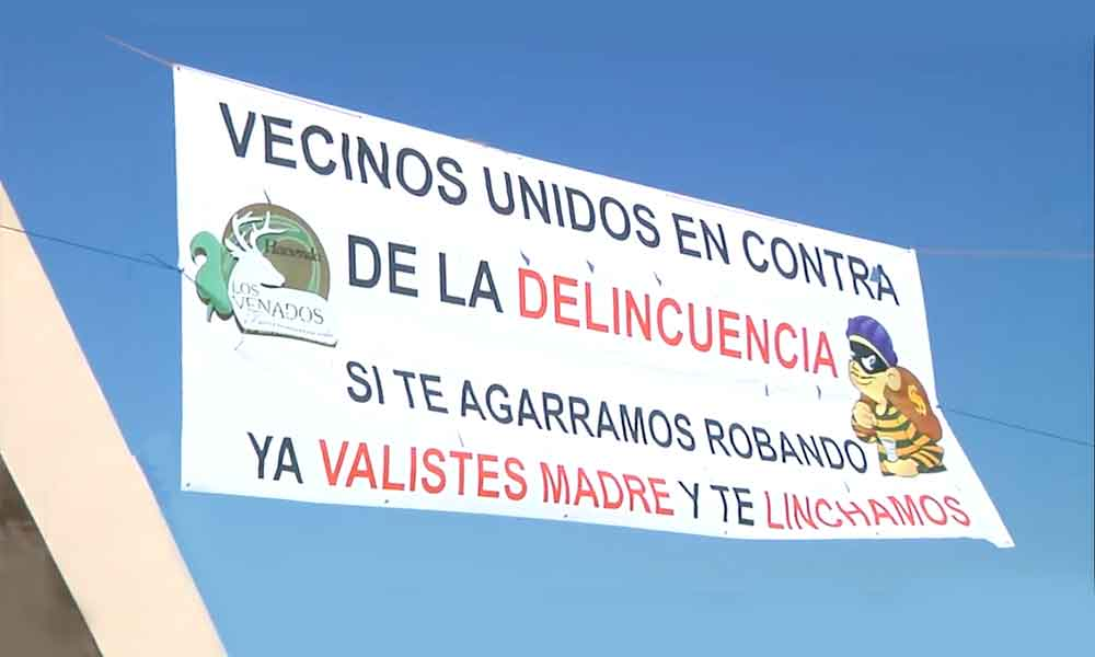 Vecinos en Tijuana advierten que harán justicia por su propia mano, no aguantan los robos