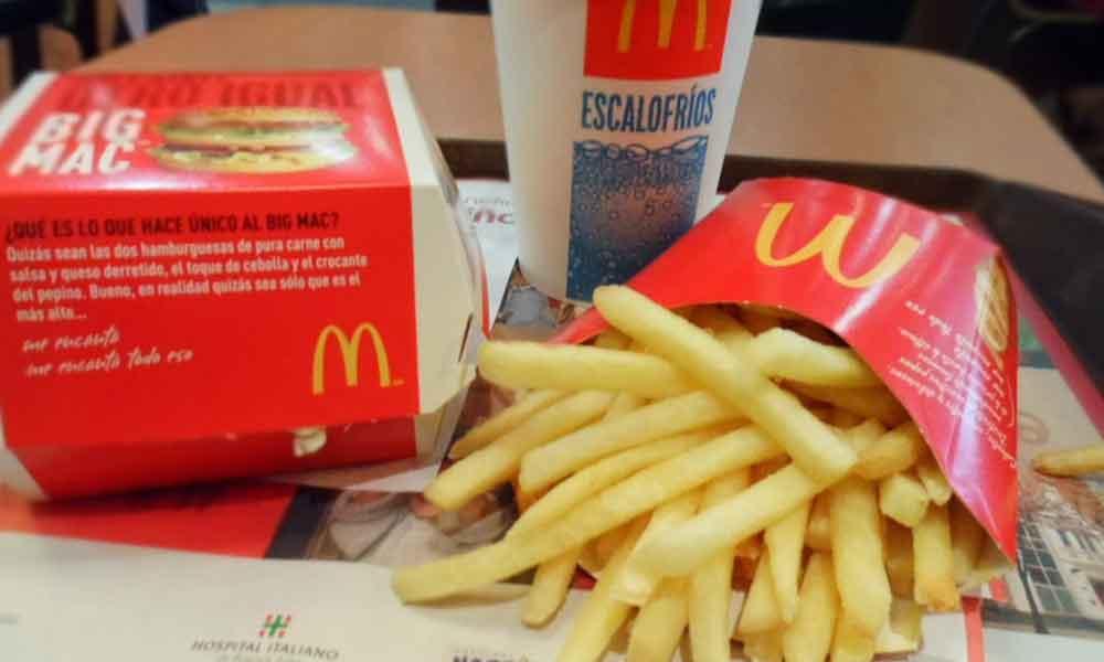 Papas fritas de McDonald's contienen la cura milagrosa para la calvicie masculina