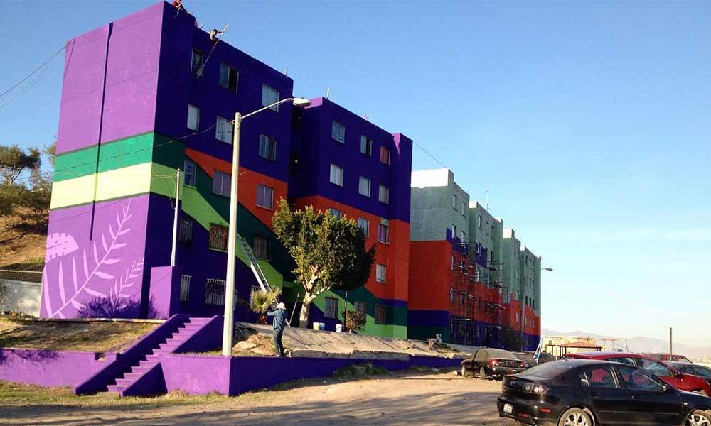 Tijuanenses podrían entrar al Record Guinness por el mural más grande en Latinoamérica