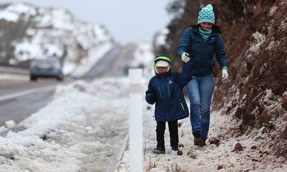Probabilidad de nevadas para Baja California, hasta -5 grados centígrados advierte CONAGUA