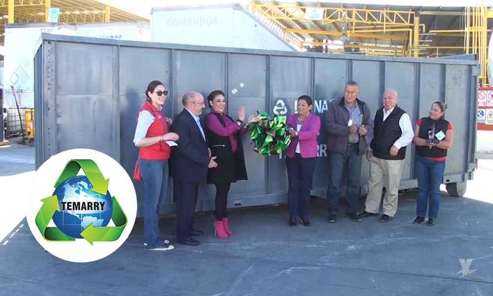 Dona Grupo Temarry dos contenedores para la recolección de basura en Tecate