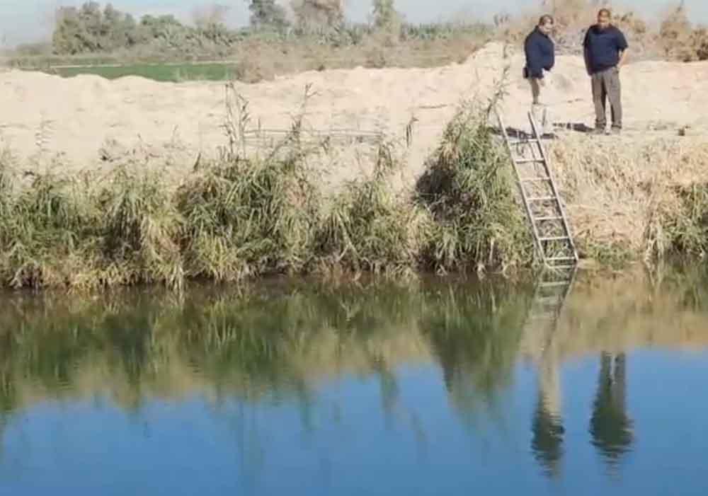 Localizan cuerpo sin vida en canal de Mexicali