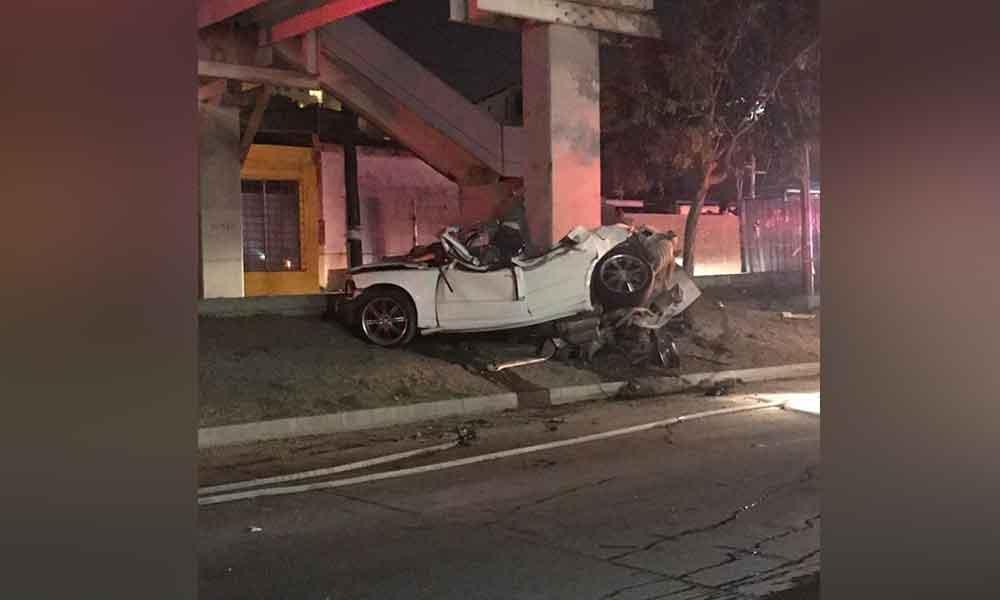 Dos muertos tras fatal choque en Tijuana