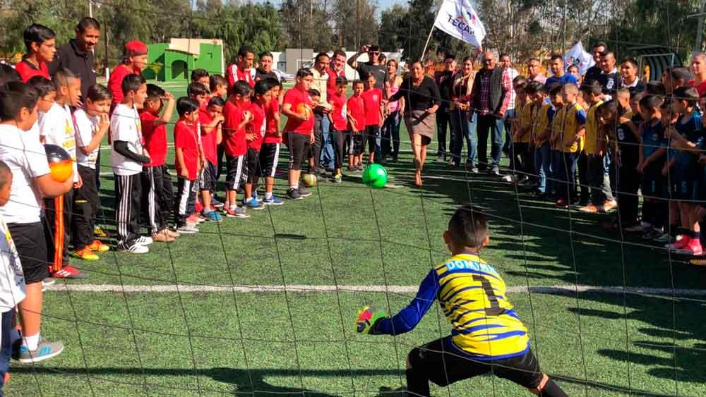 """Celebran en Tecate el Torneo Estatal de Futbol Infantil """"Campeón de Campeones"""""""