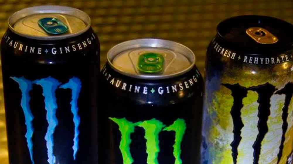 Jóvenes, digan no a las bebidas energéticas