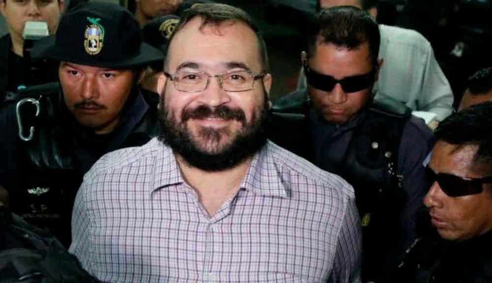 """Javier Duarte podría quedar libre: la PGR """"allanó"""" su camino"""