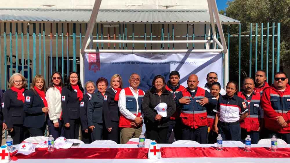 En el Pueblo Mágico de Tecate, arrancó la colecta anual de Cruz Roja