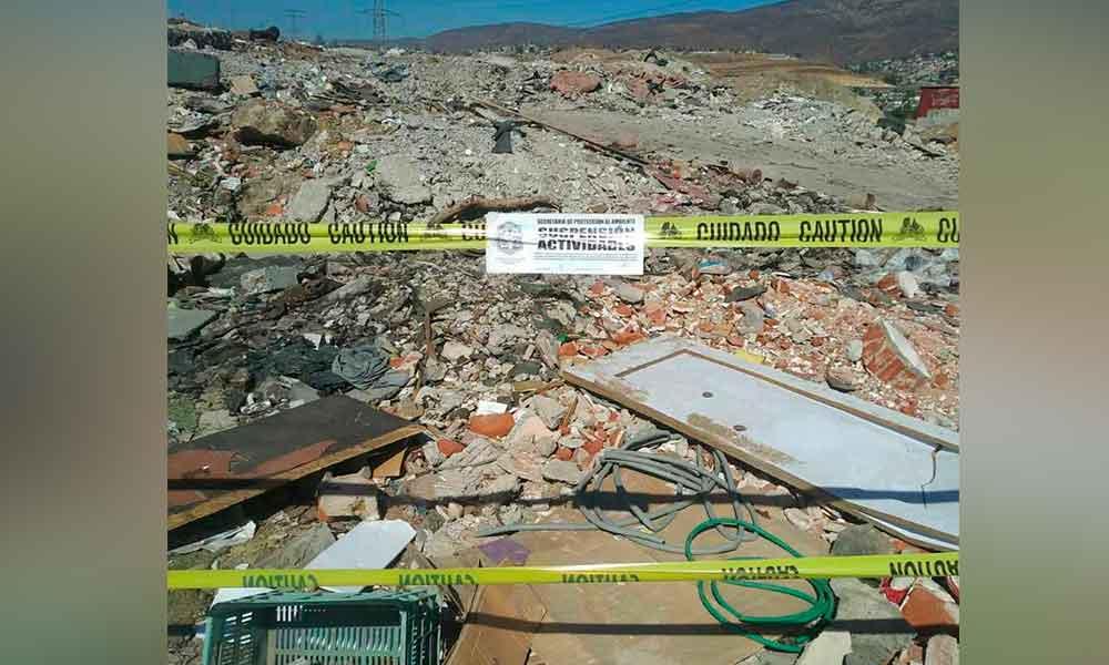 Clausuran basureros clandestinos en Tijuana