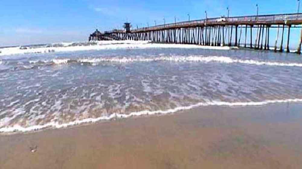 Abren playa de San Diego tras contaminación por aguas residuales
