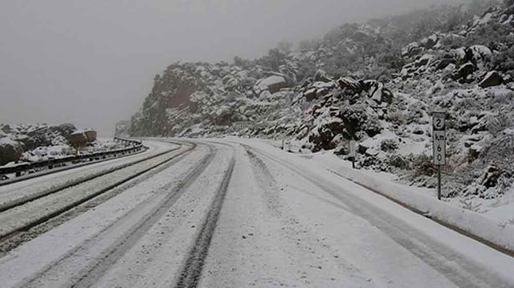 Continuarán nevadas y bajas temperaturas en Baja California