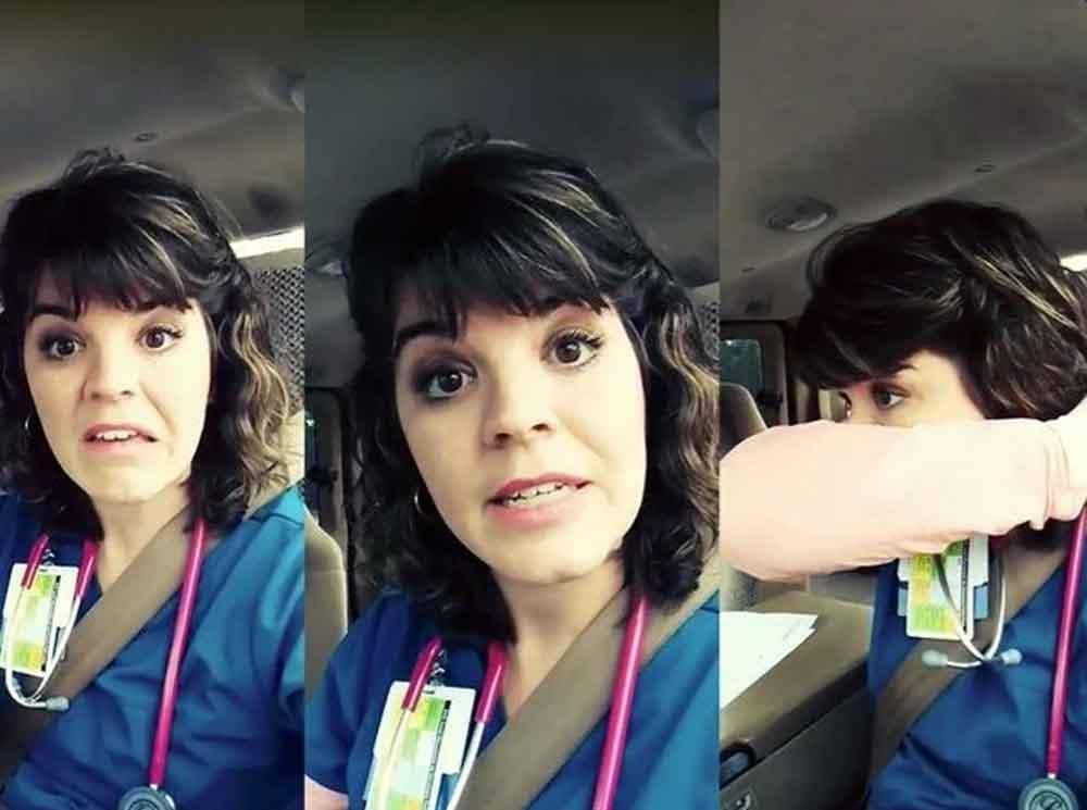 """Enfermera les dice """"lávense las manos roñosas"""" y se hace viral"""