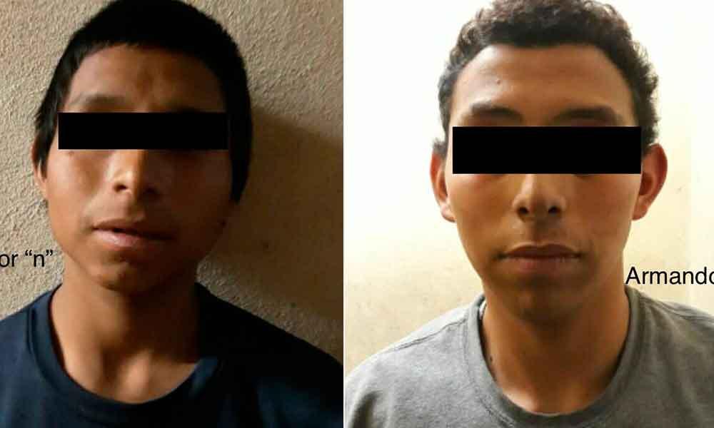 Capturan a jóvenes cuando intentaban robar frutería en Tecate