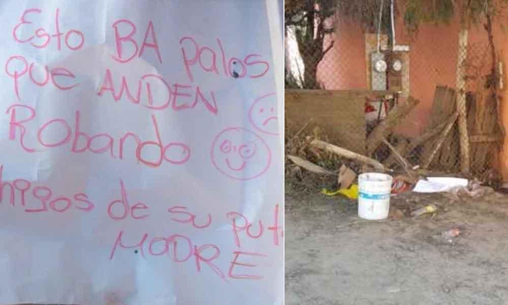 """Cortan las manos de un ladrón en Tijuana; vecino vio a su perro """"pasear"""" con la mano en el hocico"""