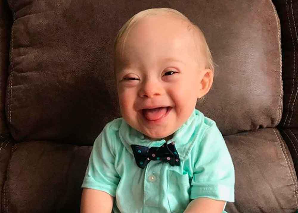 Lucas es el primer niño con Síndrome De Down en ser imagen de Gerber