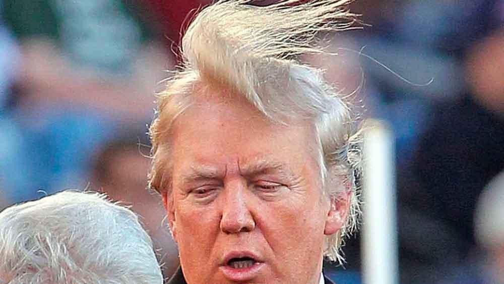 ¿Cuánto pelo cubre la cabeza de Donald Trump? Un video lo muestra