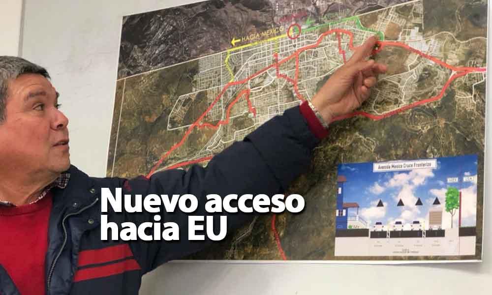 En marzo habrá nuevo acceso a la garita de Estados Unidos en Tecate