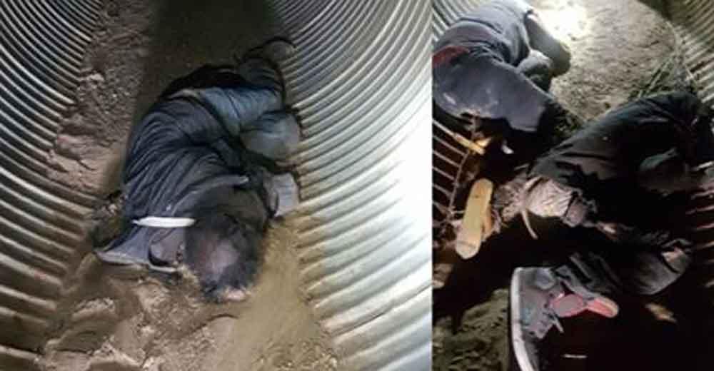 Localizan a tres jóvenes sin vida dentro de un túnel en carretera Tecate-Tijuana