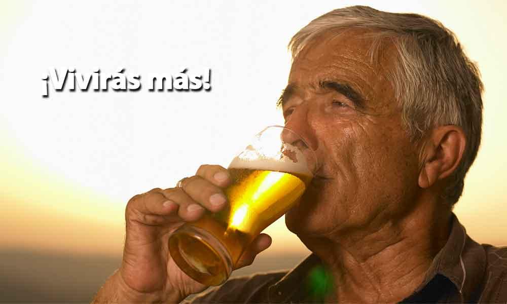 Beber alcohol puede ser mejor que el ejercicio para vivir más allá de los 90 años: Estudio