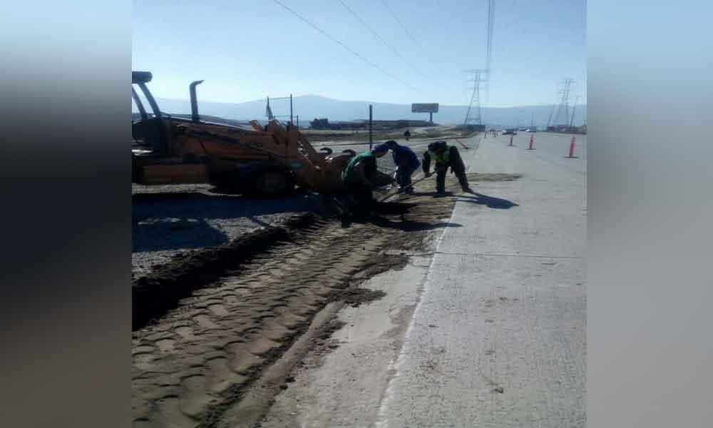 Realiza Gobierno del Estado obras de rehabilitación en corredor Tijuana-Rosarito 2000